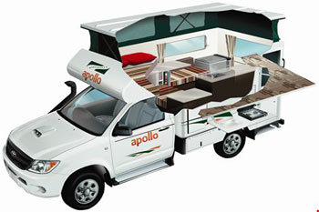 Adventure 4wd camper - 4wd - sleep inside