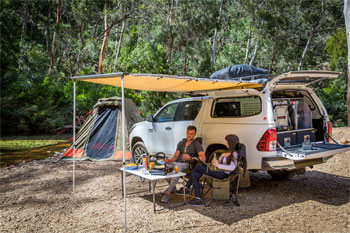 4wd and ground tent package