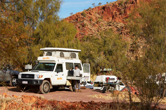 APollo Trailfinder for hire from Darwin