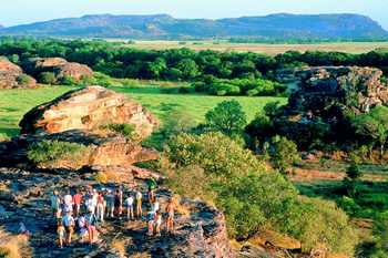 Ubirr in Kakadu National Park